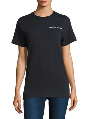 DOUBLE TROUBLE Trouble Maker Tee