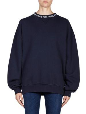 Fleece Puff Sleeve Pullover Sweater
