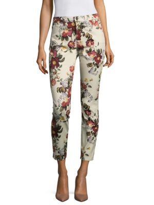 Enchanted Blossom Ankle Skinny Jeans