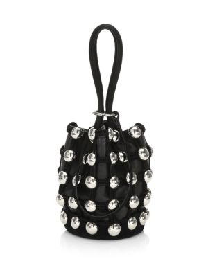Roxy Studs Mini Bucket Bag
