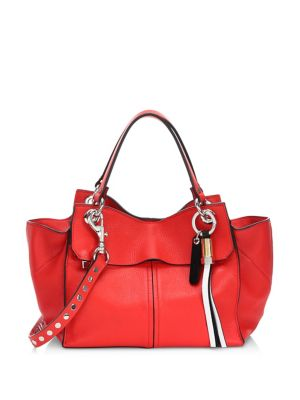 Curl Leather Handbag