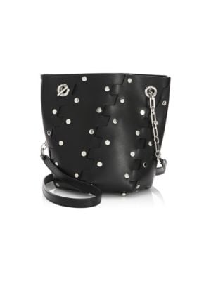 Mini Hex Bucket Bag