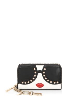 Avril Stace Face Leather Continental Wallet