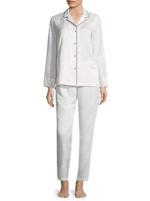 Satin Jacquard Pajamas