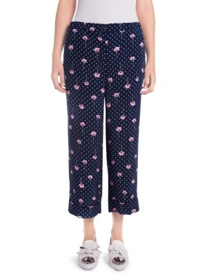 Cropped Pajama Pants