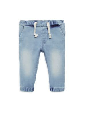 Baby Boy's Joey Denim Jogger Pants