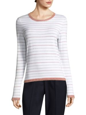 Lurex Stripe Sweater