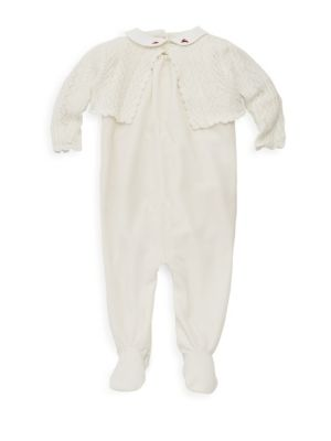 Baby Girl's Three Piece Bodysuit Set