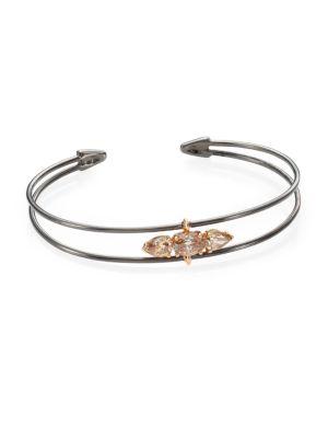 ETHO MARIA 18K Blackened Rose Gold & Diamond Bracelet