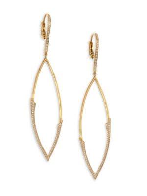 My Etho 18K Gold & Diamond Earrings