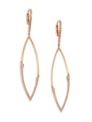 ETHO MARIA My Etho 18K Rose Gold & Diamond Earrings
