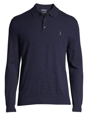 Collared Cashmere Sweater