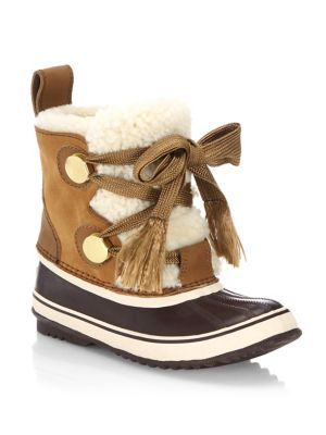 Sorel X Chloe Shearling Weather Boots by Chloé