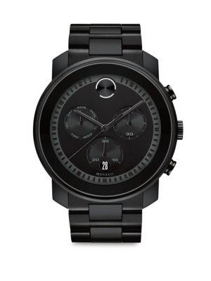 Bold Chronograph Bracelet Watch