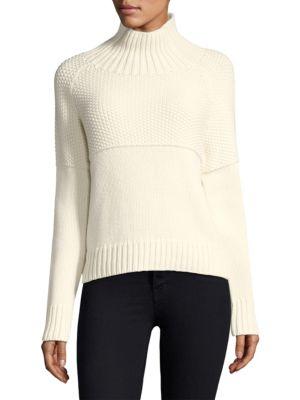 Turtleneck Cashmere Pullover