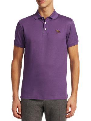 English-Placket Polo Shirt