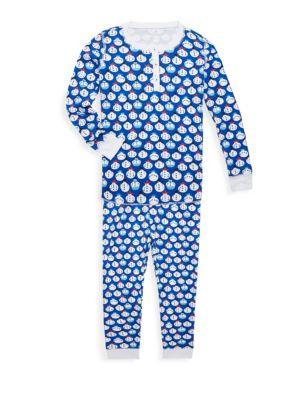 Baby Boy's, Toddler's, Little Boy's & Boy's Snowmen Pima Cotton Pajama Set