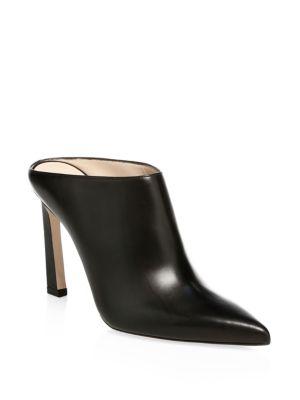 Camila Leather Stiletto Shooties