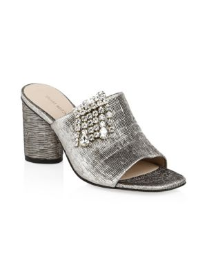Theone Crystal Mules