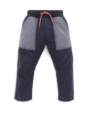 Toddler's & Little Boy's Cotton Drawstring Sweatpants