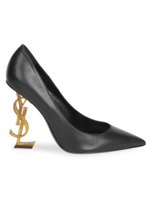 Opyum Point Toe Leather Pumps