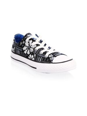 Child's Oxford Canvas Sneakers