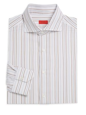 Stripe Cotton Dress Shirt
