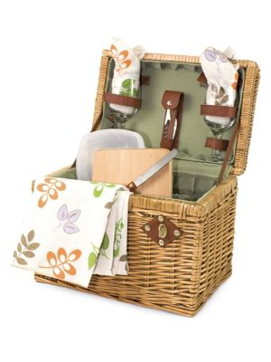 Napa Wine and Cheese Picnic Basket Set