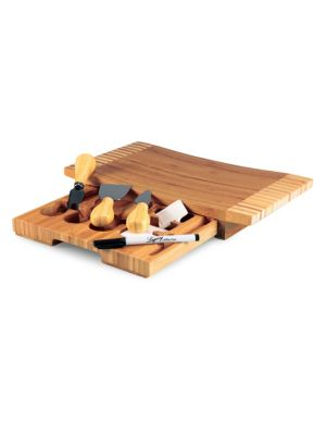 Five-Piece Concavo Cheese Board and Tools Set