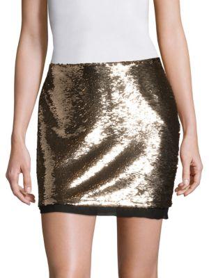 Chiffon Mini Skirt