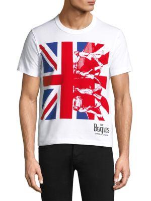 Beatles British Flag Tee