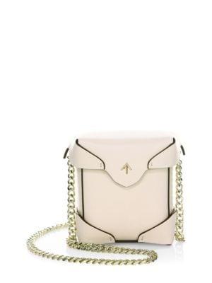 Micro Pristine Chain Box Bag
