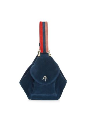 Micro Fernweh Suede Bucket Bag