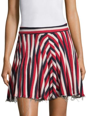 My Darling Striped Mini Skirt
