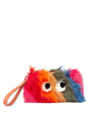 Creeper Fur Clutch