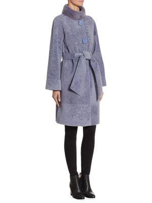 Reversible Mink Shearling Coat