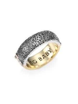 Yin Yang Two-Tone Band Ring