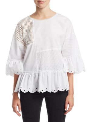 Open Lace Top