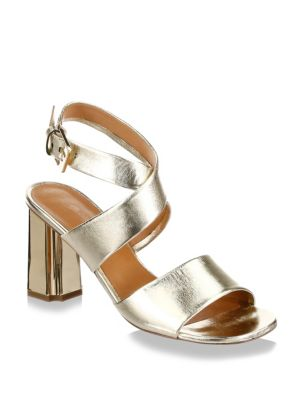 Robert Clergerie Leather Ankle Strap Sandals