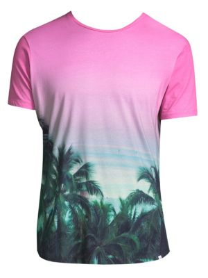 Photographic Ombre Cotton Tee