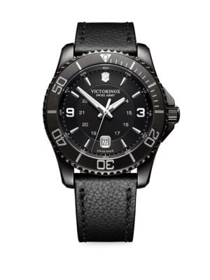 Maverick Oval Stainless Steel Watch