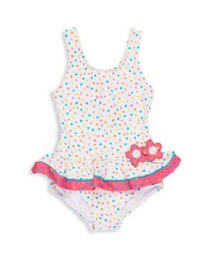 Baby's, Toddler's & Little Girl's Skirted Tank Swimsuit
