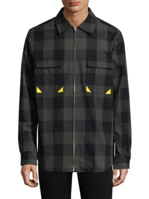 Checkered Cotton Jacket
