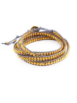 Yellow Gold Wrap Bracelet