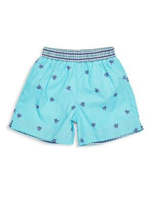 Baby's Turtle Cotton Swim Trunks