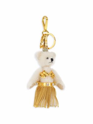 Gold Bikini Bear Charm