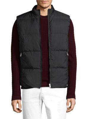 Quilted Zip-Up Vest