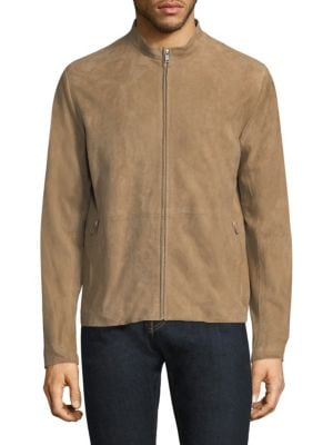 Arvid Amorium Suede Saddle Jacket
