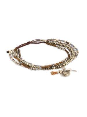 Pyrite Mix Adjustable Bracelet