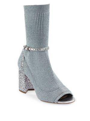 Glitter Sock Pumps